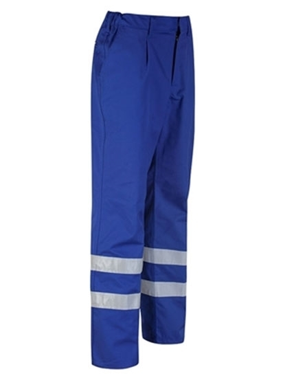 Picture of Alsi Trouser with Reflective Tape - Royal Blue