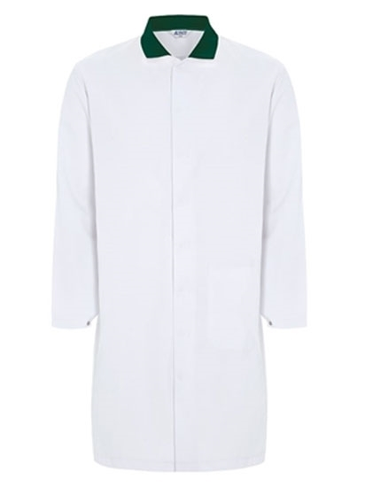 Picture of Food Trade Coat - Super White Bottle  Collar