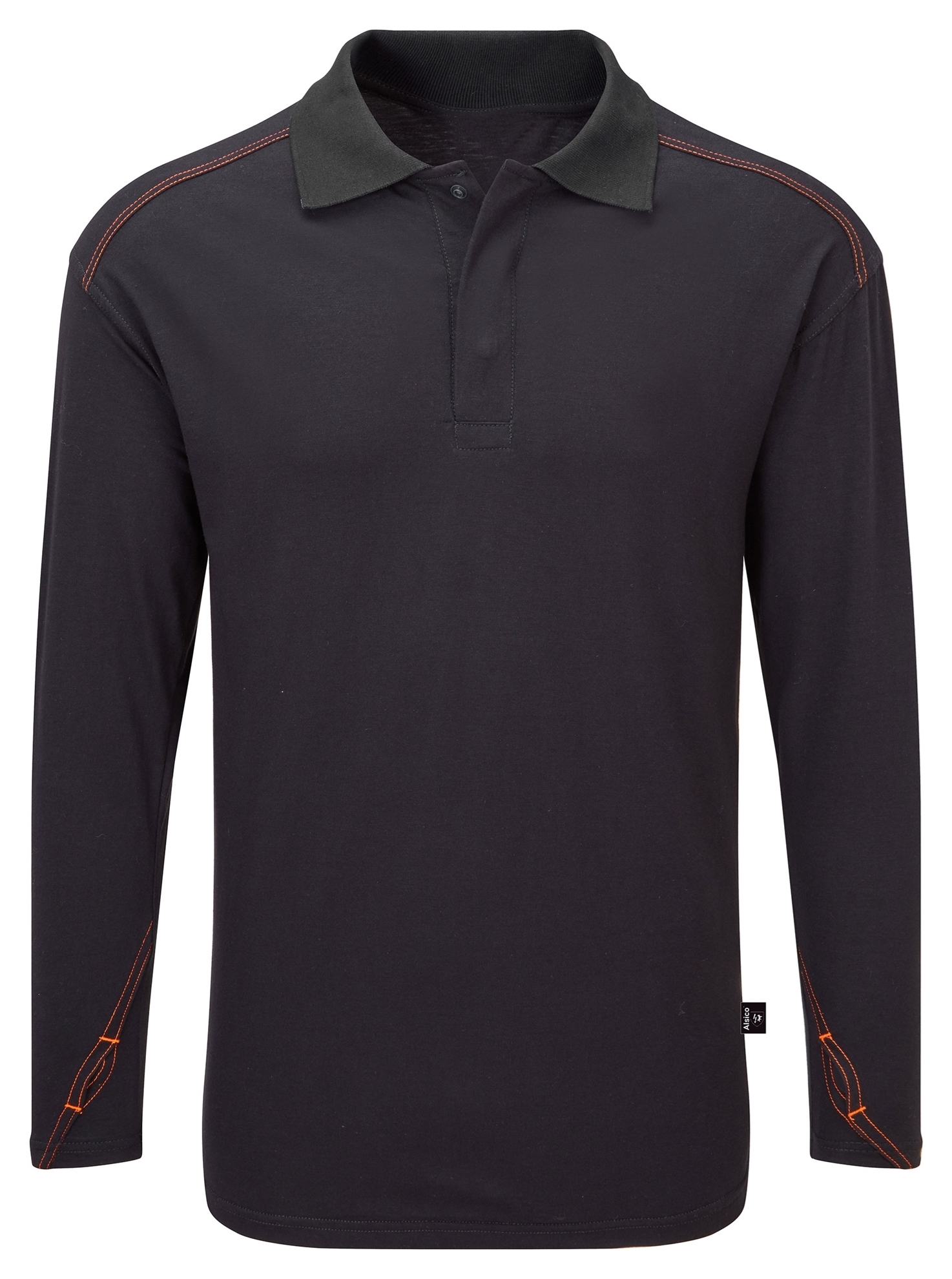 Picture of Long Sleeved Arc Flash FR Poloshirt - Navy