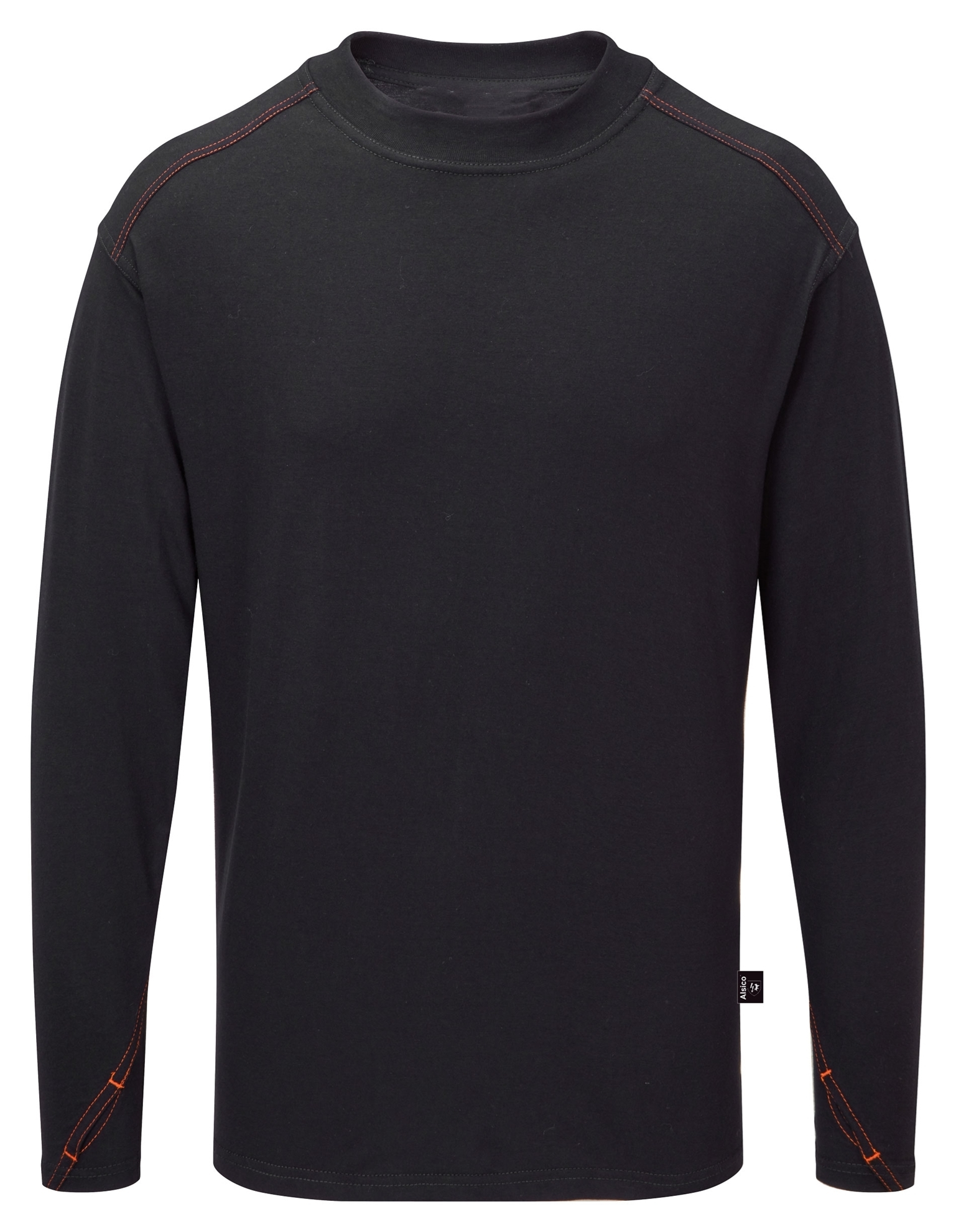Picture of Long Sleeved Arc Flash FR T-shirt - Navy