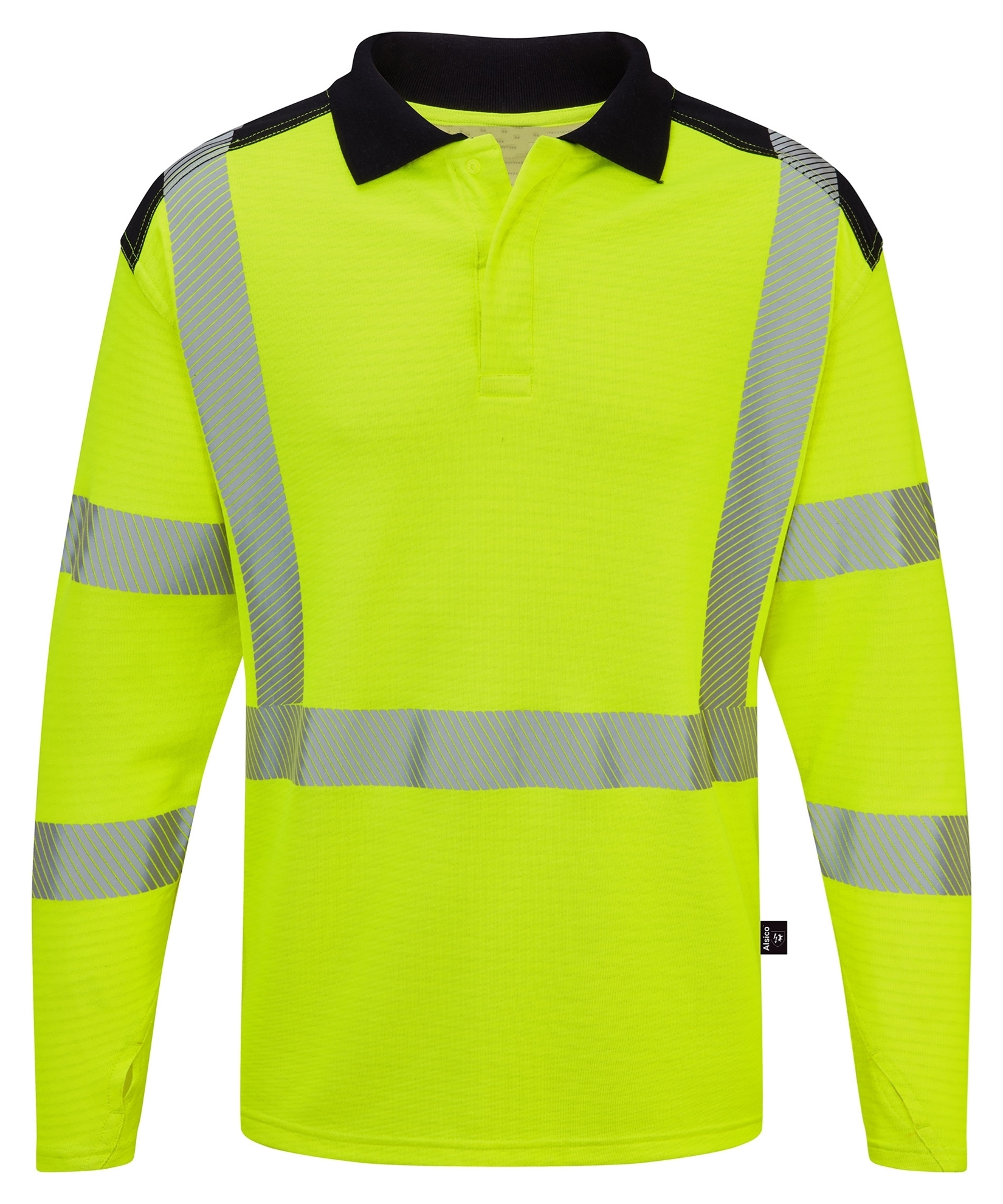 Picture of Hi-Visibility Arc Flash FR Poloshirt - Yellow